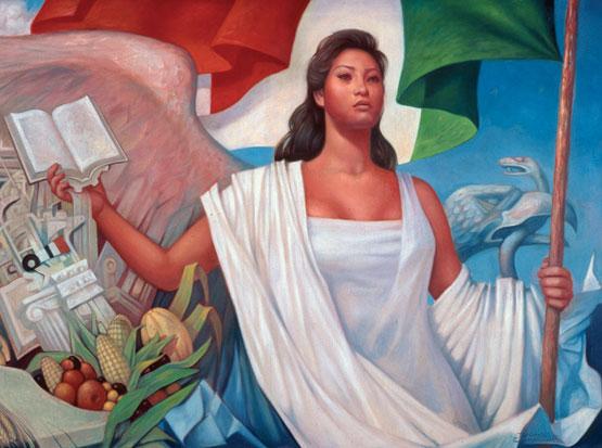 La Patria De Mexico